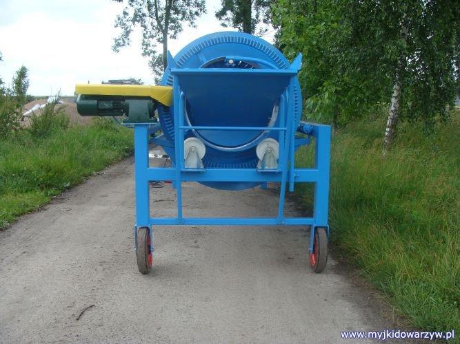 Myjka do warzyw M-200/2 - tył