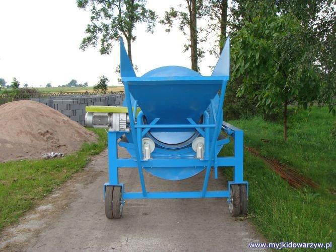 Myjka do warzyw M-500/2 - tył