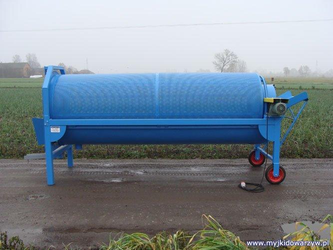Myjka do ziół MZ-300 - lewy bok