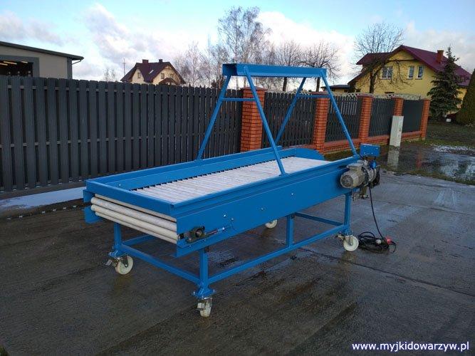 Stół rolkowy S-250 - prawy tył