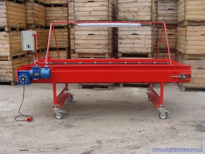 Stół rolkowy S-300 - lewy bok
