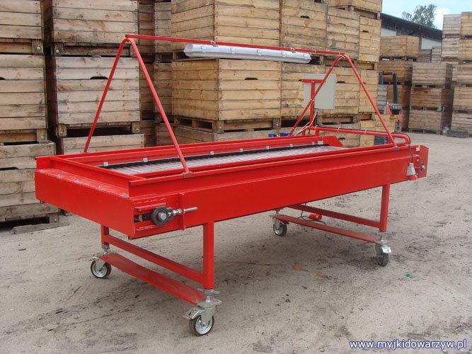 Stół rolkowy S-300 - prawy tył